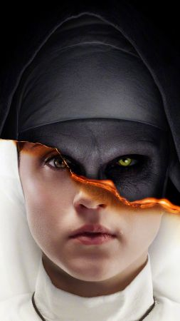 The Nun, poster, 4K (vertical)