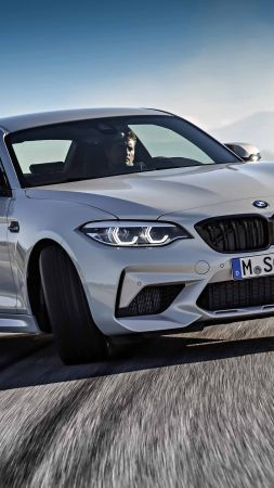 BMW M2 Competition, 2019 Cars, 4K (vertical)