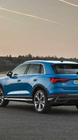 Audi Q3, 2019 Cars, crossover, SUV, 4K (vertical)