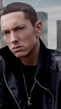 Eminem, singer, rapper, actor, 4K (vertical)
