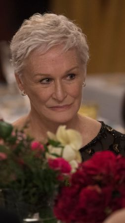The Wife, Glenn Close, 4K (vertical)