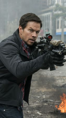 Mile 22, Mark Wahlberg, 4k (vertical)