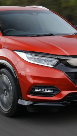 Honda HR-V, 2019 Cars, SUV, crossover, 4K (vertical)