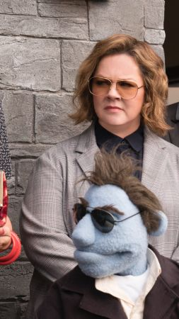 The Happytime Murders, Melissa McCarthy, 4K (vertical)