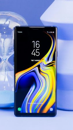 Samsung Galaxy Note 9, Android 8.0, Android Oreo, smartphone, 4K (vertical)