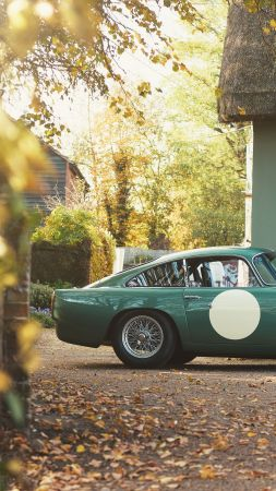 Aston Martin DB4 GT Continuation, 2018 Cars, 4K (vertical)