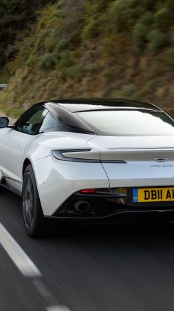 Aston Martin DB11 V8, 2018 Cars, 4K (vertical)