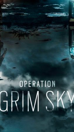Operation Grim Sky, Gamescom 2018, Tom Clancy's Rainbow Six Siege, poster, artwork, 5K (vertical)