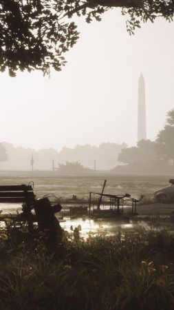 Tom Clancy's The Division 2, Gamescom 2018, screenshot, 4K (vertical)