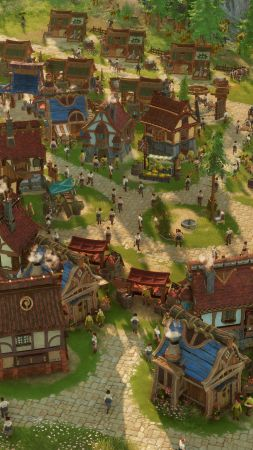 The Settlers 2019, Gamescom 2018, screenshot, 4K (vertical)