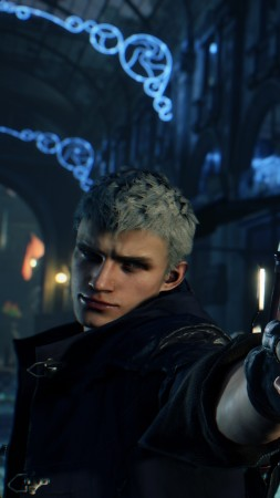 Devil May Cry 5, Gamescom 2018, screenshot, 4K (vertical)