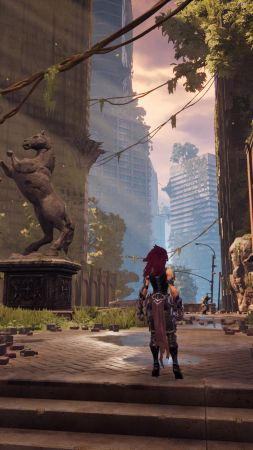 Darksiders III, Gamescom 2018, screenshot, 4K (vertical)