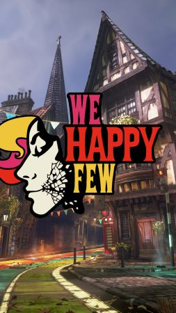 We Happy Few, poster, 4K (vertical)