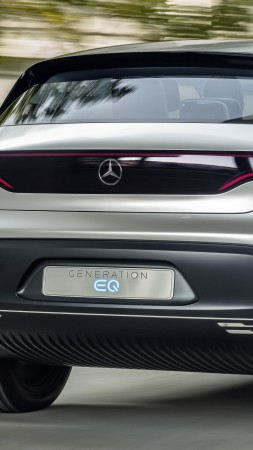 Mercedes-Benz EQC, SUV, 2019 Cars, electric cars, 5K (vertical)