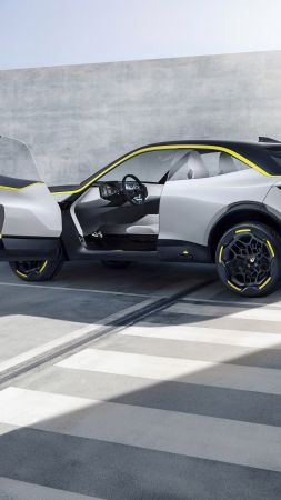 Opel GT X Experimental Concept, 2018 Cars, crossover, 8K (vertical)