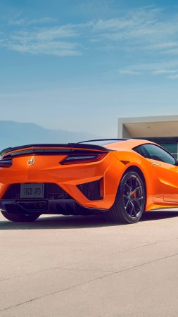 Acura NSX, 2019 Cars, supercar, 5K (vertical)