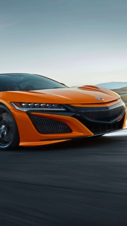 Acura NSX, 2019 Cars, supercar, 8K (vertical)