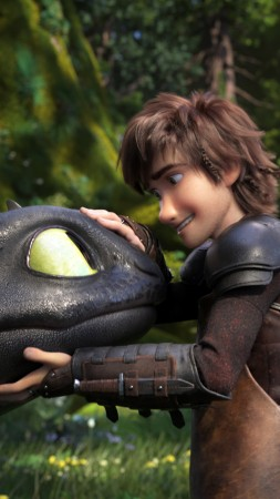 How to Train Your Dragon: The Hidden World, 4K (vertical)