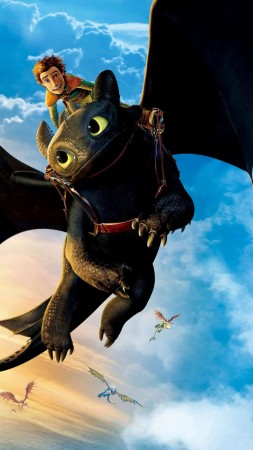 How to Train Your Dragon: The Hidden World, poster, 4K (vertical)