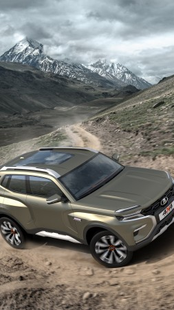 Lada 4x4 Vision, 2020 Cars, SUV, 4K (vertical)