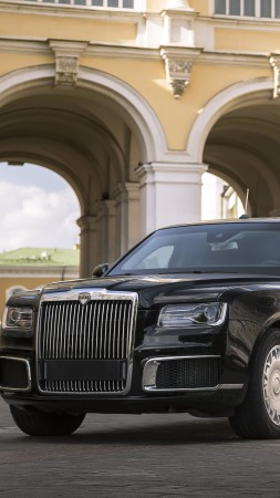 Aurus Senat, luxury cars, 2018 Cars, 5K (vertical)