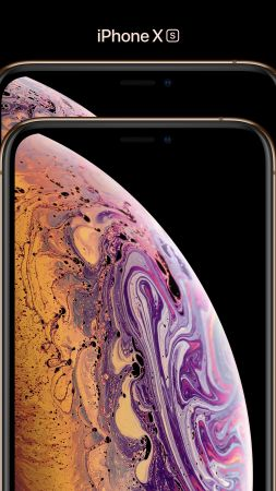 iPhone XS, iPhone XS Max, gold, smartphone, 4k, Apple September 2018 Event (vertical)