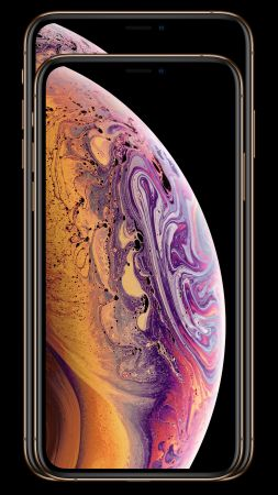 iPhone XS, iPhone XS Max, gold, smartphone, 5k, Apple September 2018 Event (vertical)