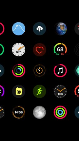 Apple Watch Series 4, Apps, Apple September 2018 Event (vertical)