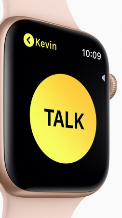 Apple Watch Series 4, Walkie-Talkie, Apple September 2018 Event (vertical)