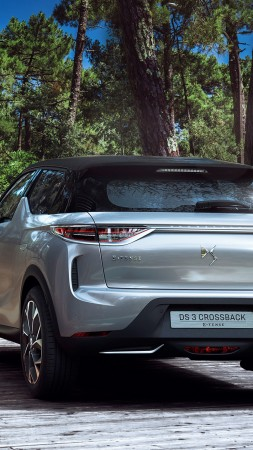DS 3 Crossback, 2019 Cars, crossover, 4K (vertical)