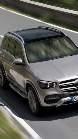 Mercedes-Benz GLE, 2019 Cars, SUV, 8K (vertical)