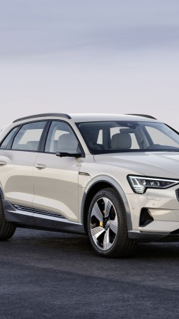 Audi e-tron, 2020 Cars, SUV, electric cars, 4K (vertical)