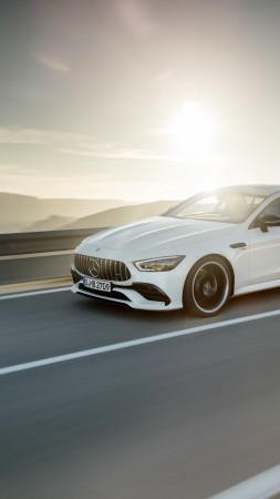 Mercedes-Benz AMG GT43 4-Door, 2019 Cars, 8K (vertical)