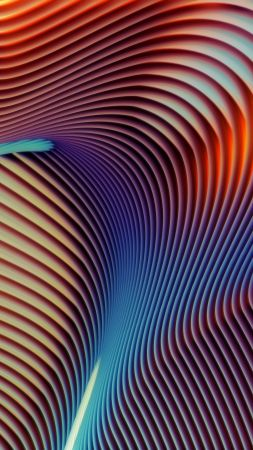 macOS Mojave, abstract, technastic, 5K (vertical)