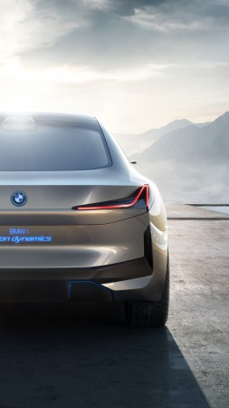 BMW i4, electric cars, 4K (vertical)