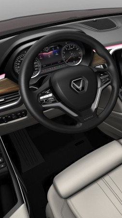 VinFast LUX A2.0, SUV, 2019 Cars, 8K (vertical)