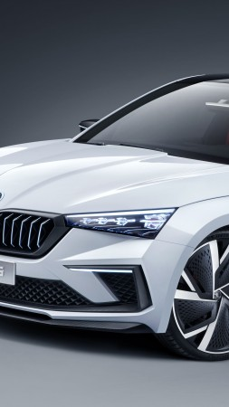 Skoda Vision RS, electric cars, 5K (vertical)