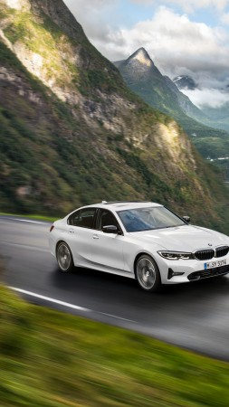 BMW 3-Series, 2019 Cars, 4K (vertical)