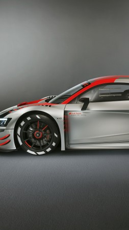 Audi R8 LMS GT3, 2019 Cars, supercar, 4K (vertical)