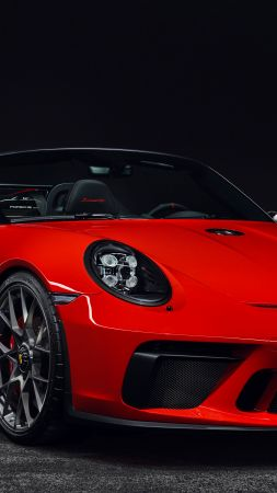 Porsche 911 Speedster, 2019 Cars, 4K (vertical)
