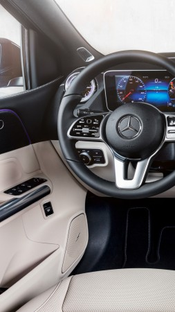 Mercedes-Benz B-Class W247, 2019 Cars, HD (vertical)