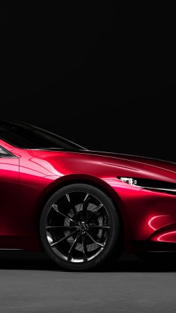 Mazda Kai, electric cars, 4K (vertical)