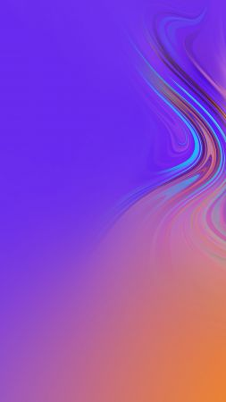 Samsung Galaxy A9, Samsung Galaxy A7, Android 8.0, abstract, colorful, HD (vertical)