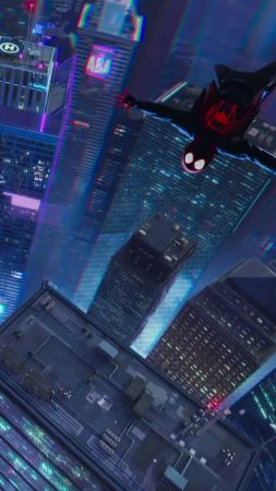 Spider-Man: Into the Spider-Verse, 4K (vertical)
