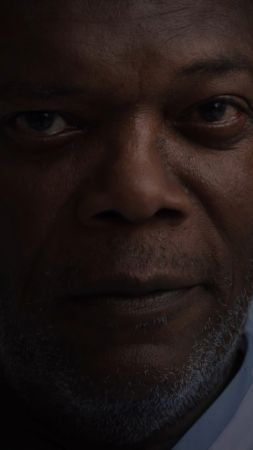 Glass 2019, Samuel L. Jackson, 4K (vertical)