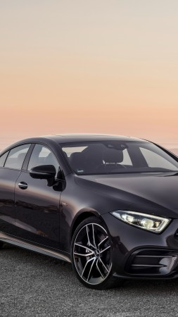 Mercedes-Benz CLS53 AMG, 2019 Cars, 8K (vertical)
