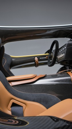 Aston Martin CC100, Speedster, interior, concept, Aston Martin, sports car, anniversary, custom (vertical)