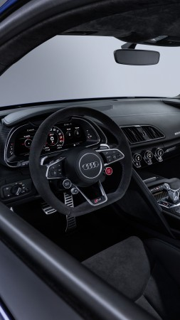 Audi R8 V10, 2019 Cars, 4K (vertical)