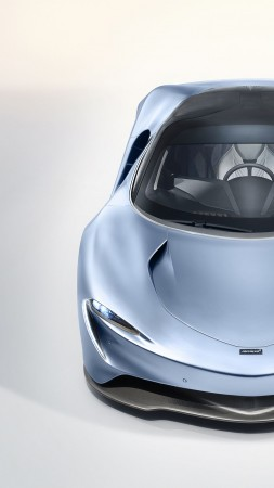 McLaren Speedtail, supercar, electric cars, 4K (vertical)