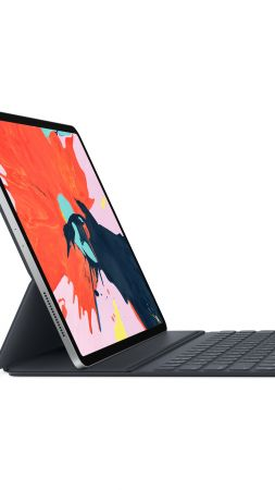 Smart Keyboard Folio, iPad Pro 2018, Apple October 2018 Event, 8K (vertical)